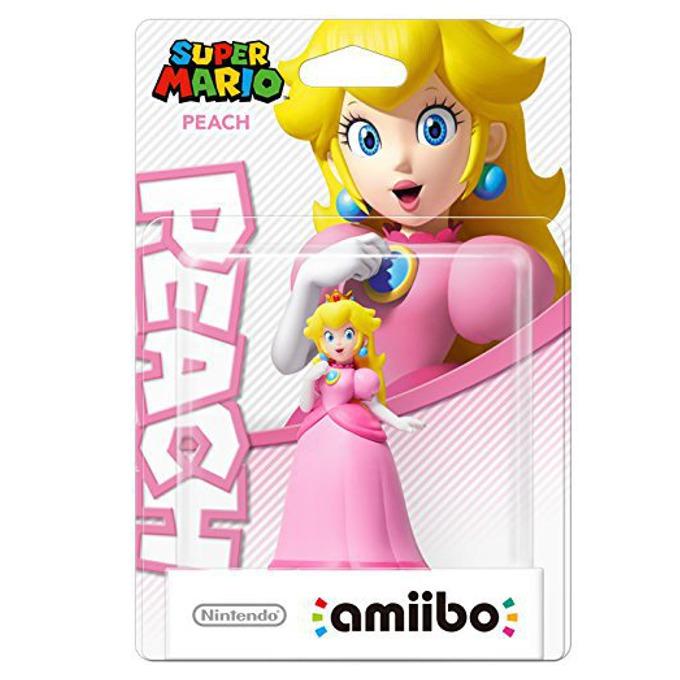 Фигура Nintendo Amiibo - Peach, за Nintendo 3DS/2DS, Wii U image