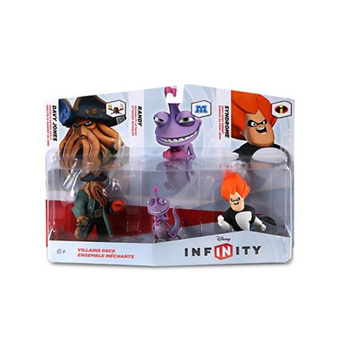 Disney Infinity Villains Figure Set, за PS3/PS4, Wii U, XBOX 360/XBOX ONE, PC image