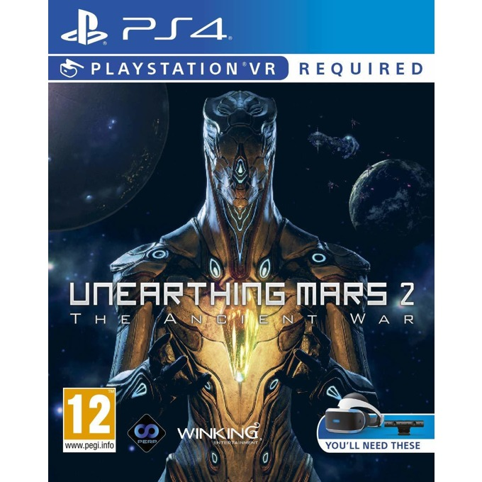 Игра за конзола Unearthing Mars 2: The Ancient War, за PS4 VR image