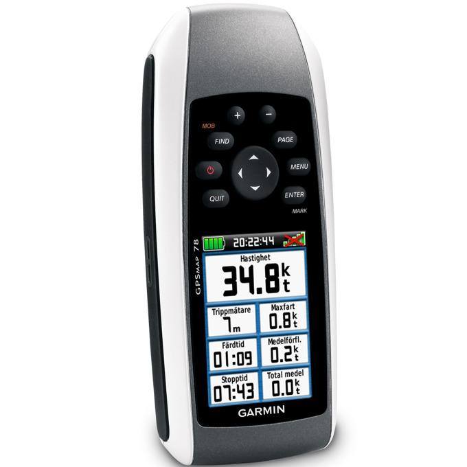 Ръчна навигация GARMIN GPSMAP® 78 BG, водоустойчива, цветен сензорен дисплей, microSD слот, подробна карта на България (+off-road) и Световна базова карта image