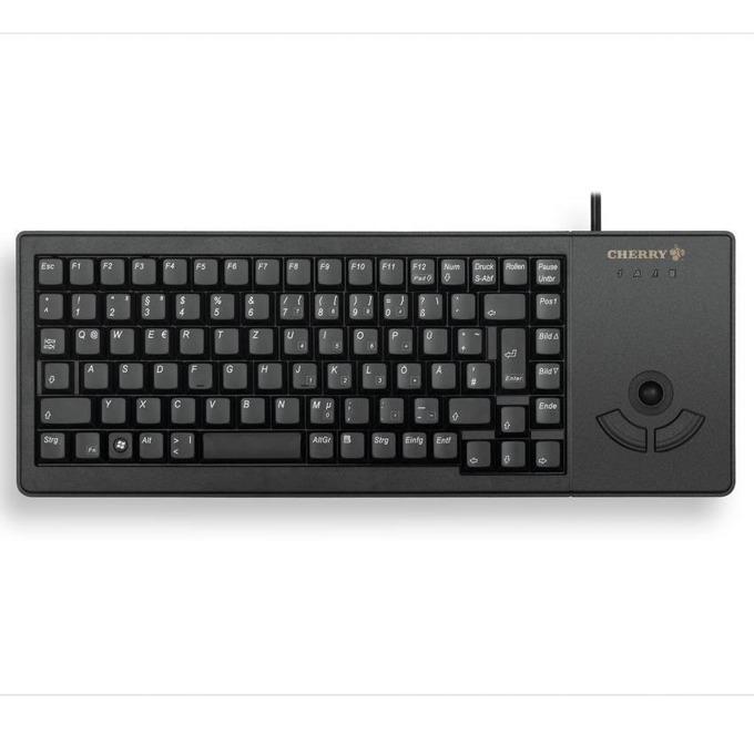 Клавиатура Cherry G84-5400, Trackball, черна, USB, без кирилизация image