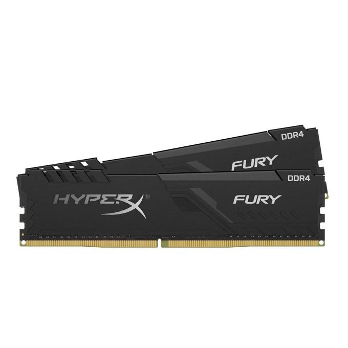 Памет 16GB(2x8GB) DDR4, 3733MHz, Kingston HyperX Fury HX437C19FB3K2-16, 1.35 V image