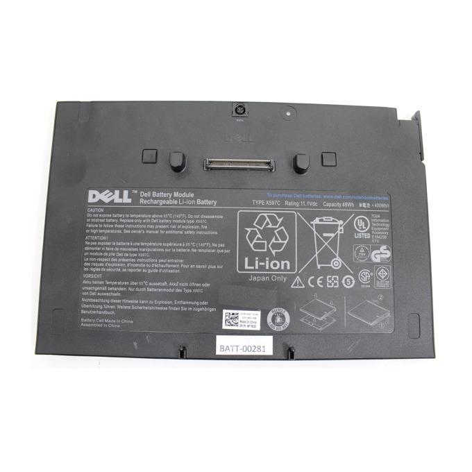 Батерия (оригинална) за лаптоп Dell Latitude, съвместима с E4200/E4200n ADDITIONAL (допълнителна), 11.1V, 4300 mAh  image