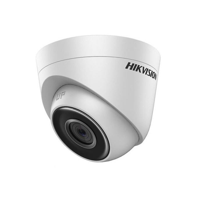 IP камера Hikvision DS-2CD1301-I, куполна камера, 1MP (1280x720@25fps), 4 mm обектив, H.264/MJPEG, IR осветление (до 30m), външна IP67, PoE, RJ-45 image