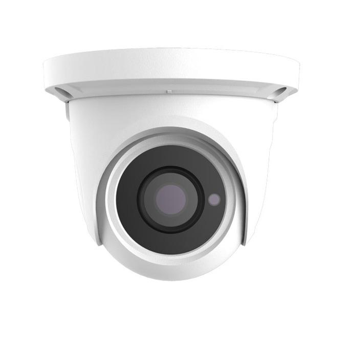 IP камера TVT TD-9544E2 (D/PE/AR1), куполна, 4 Mpix(2592×1520@30fps), 3.6 mm обектив, H.265/H.264/MJPEG, IR осветеност (до 20 метра), външна, IP66 защита, PoE, 1x RJ-45 image