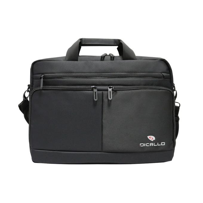 "Чанта за лаптоп Dicallo LLM9802, до 15.6"" (39.60cm), черна image"