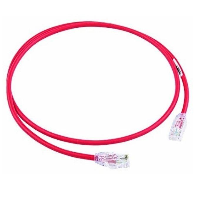 Пач кабел Panduit, UTP, cat.6a, 1.5m, червен image