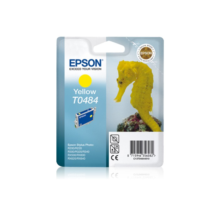 ГЛАВА ЗА EPSON STYLUS PHOTO R 200/R300/R320/ RX 500/600 - Yellow - P№ C13T048440 image