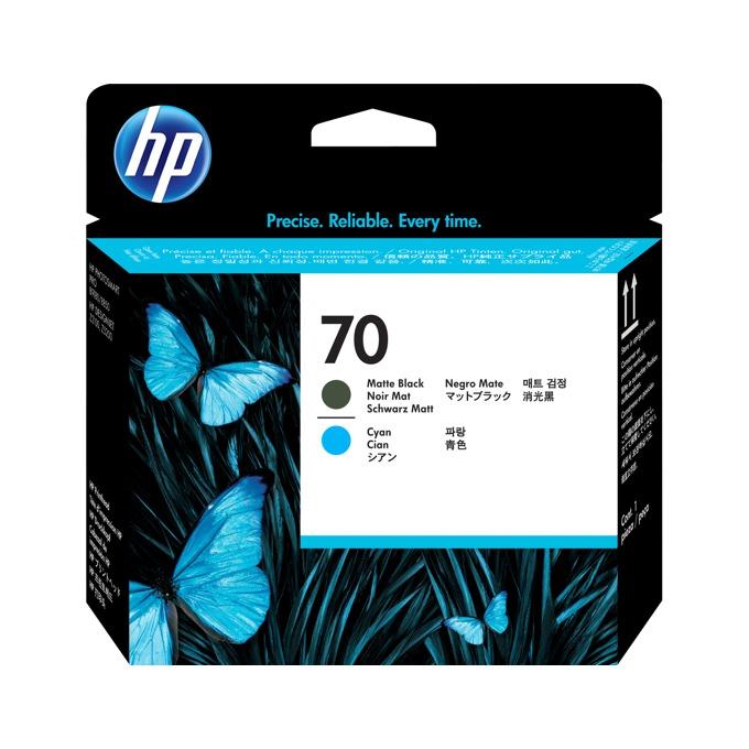 ГЛАВА HP Photosmart Pro B9180 Professional Photo Printer - Matte Black and Cyan Printhead  - P№ C9404A image