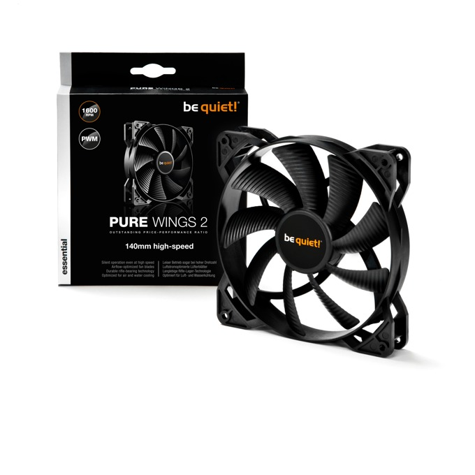 Вентилатор 140mm be quiet! Pure Wings 2 PWM, 4-pin, 1600 rpm image