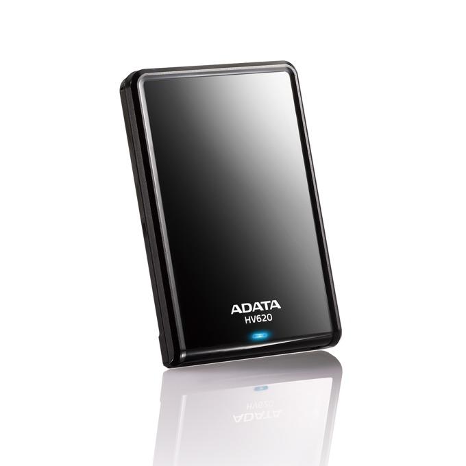 """Твърд диск 2TB, A-Data HV620, 2.5"""" (6.35 cm), външен, USB 3.0, 3г. гаранция image"""