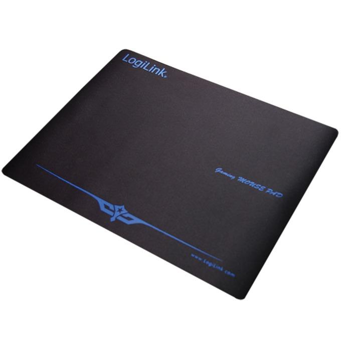 Подложка за мишка LogiLink Mousepad XXL, гейминг, черна, 300 x 400 mm image