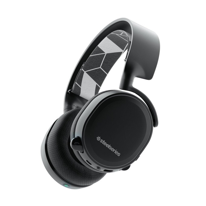 Слушалки SteelSeries Arctis 3 2019 Edition, безжични, микрофон, Bluetooth, гейминг, черни image