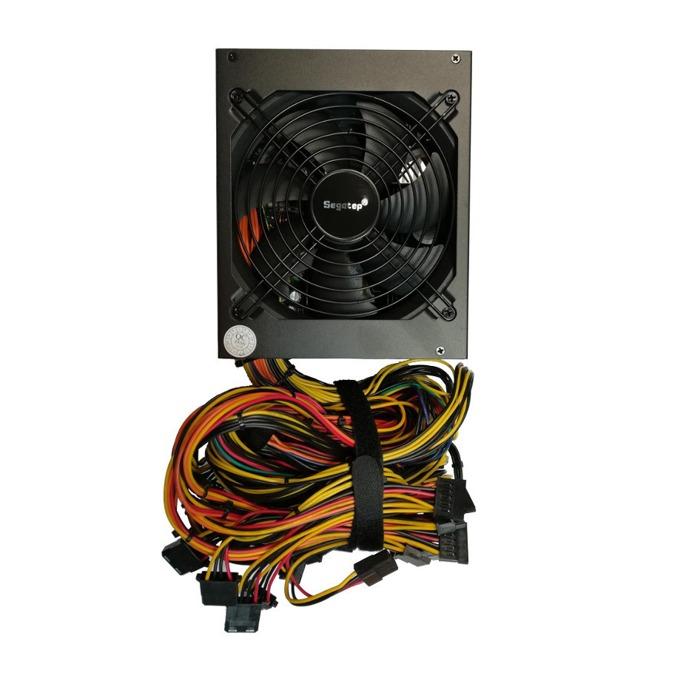 Захранване Segotep SG-1250G, 1150W, Active PFC, 80+ Gold, 140mm вентилатор image