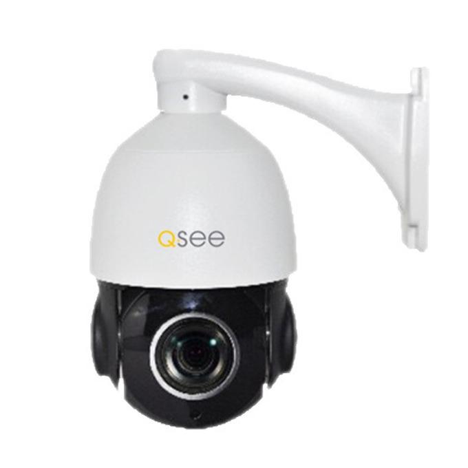 IP камера Q-See QTN8065Z, куполна камера, 3 Mpix(2048x1536@30FPS), 5,5-88mm обектив, H.264/MJPEG, IR осветеност (до 50 метра), IP66, въртяща се, SD слот, 1x RJ45 100mbs PoE image