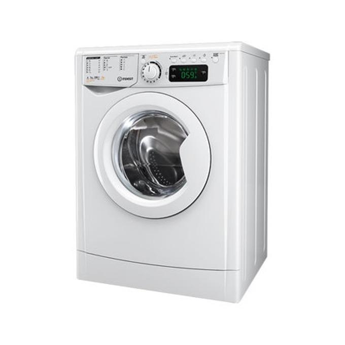 Пералня със сушилня Indesit EWDE 71280 W EU, клас A, 7 кг. капацитет пералня/5 кг. капацитет сушилня, 1200 оборота в минута, 16 програми, свободностояща, 60 cm. ширина, бяла image
