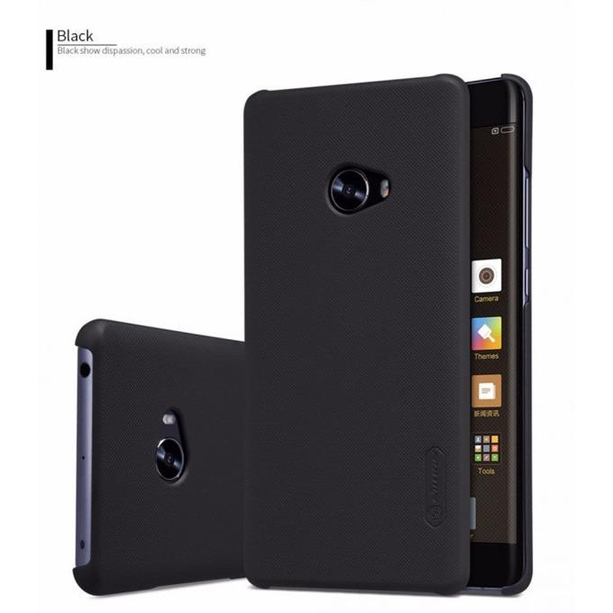 Калъф за Xiaomi Mi Note 2, страничен с гръб, висококачествена пластмаса, Nillkin, черен image