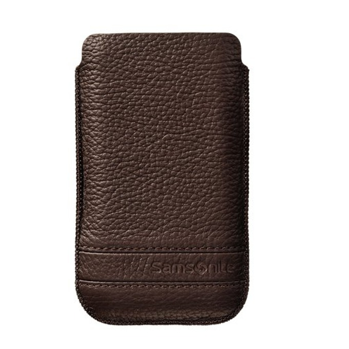 Калъф тип джоб Samsonite SLIM CLASSIC XL, кожен, кафяв image