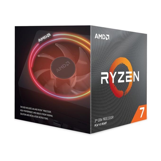 Процесор AMD Ryzen 7 3700X осемядрен (3.6/4.4GHz, 32MB, AM4) BOX, с Wraith Prism охлаждане image