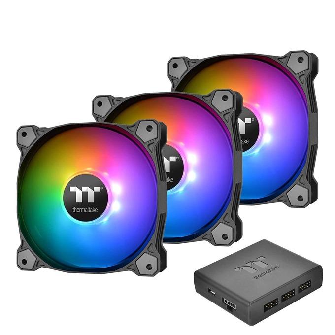 Вентилатори 140mm 3x Pure Plus RGB 14, USB, 9-pin, 1500 rpm image