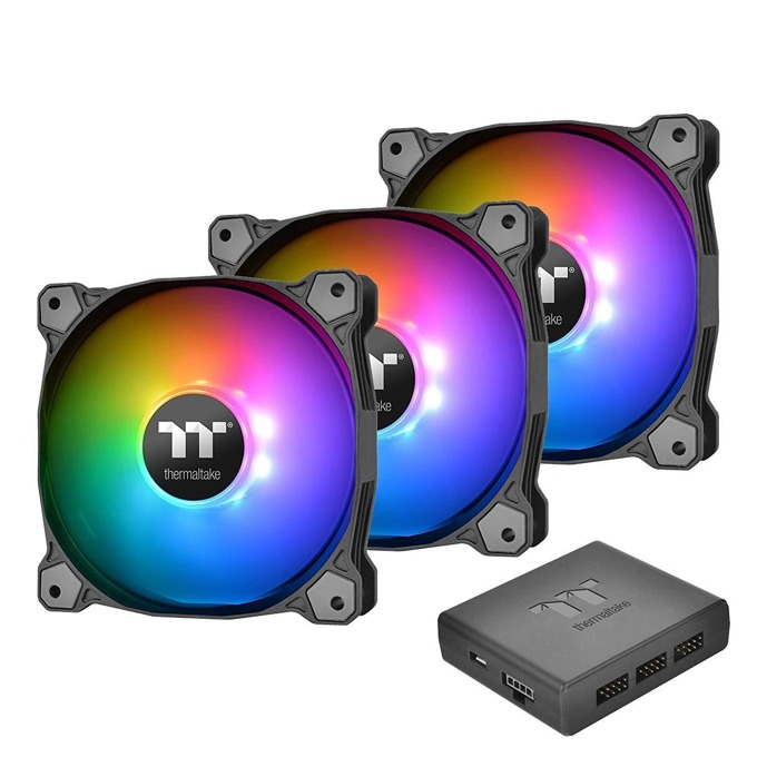 Вентилатори 140mm 3x Pure Plus RGB 14, USB, 9-pin, 1500 rpm image
