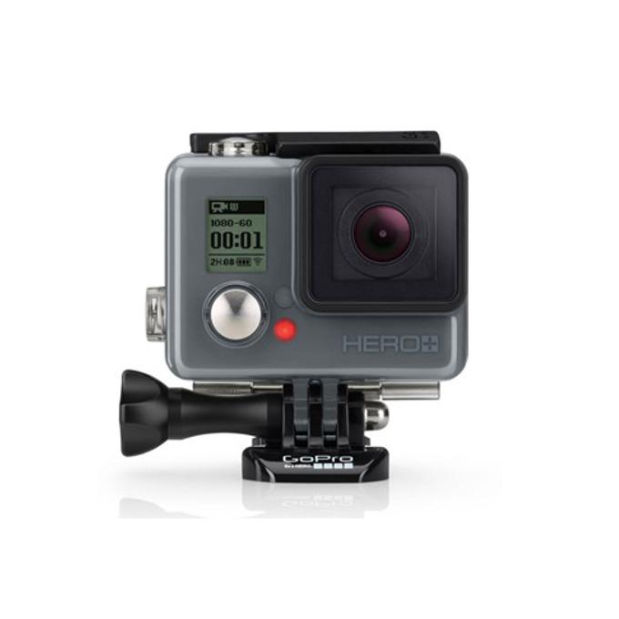 """Спортна Екшън камера GoPro HERO+ LCD, Full HD (60 fps), 1.5""""(3.81cm) Touch Display, 8 мегапиксела, Micro SD слот до 64GB, Micro USB image"""