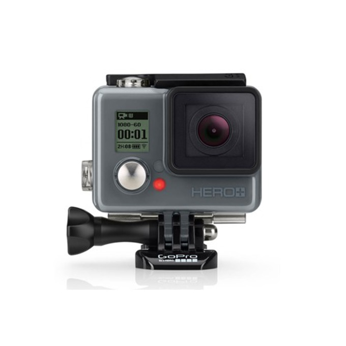 "Спортна Екшън камера GoPro HERO+ LCD, Full HD (60 fps), 1.5""(3.81cm) Touch Display, 8 мегапиксела, Micro SD слот до 64GB, Micro USB image"