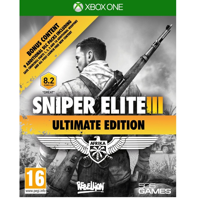 Sniper Elite 3: Ultimate Edition, за Xbox One image