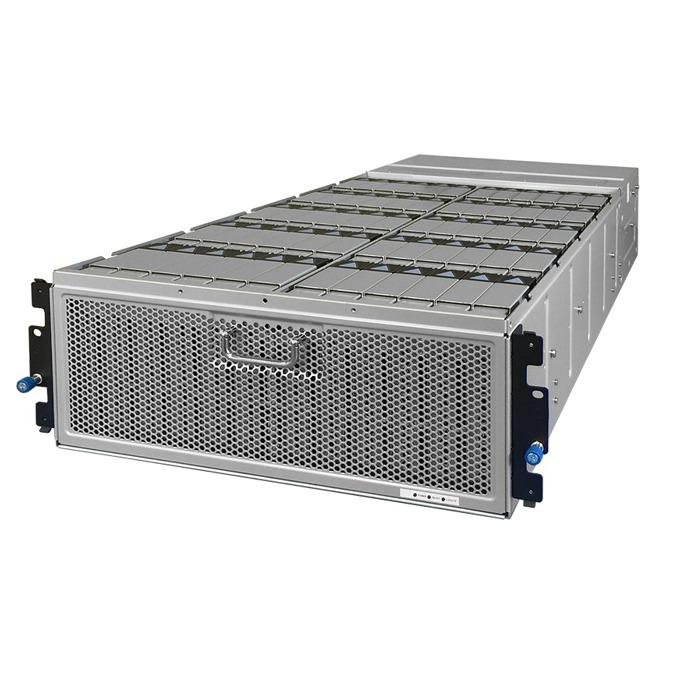 """Мрежови диск (NAS) HGST 4U60(1ES0055), 240TB HDD(60x 4TB), SAS 12Gb/s, 3.5"""" (8.89 cm), 2x 1,650W PSU's, 2x RJ-45, 2x SAS QSFP+ image"""