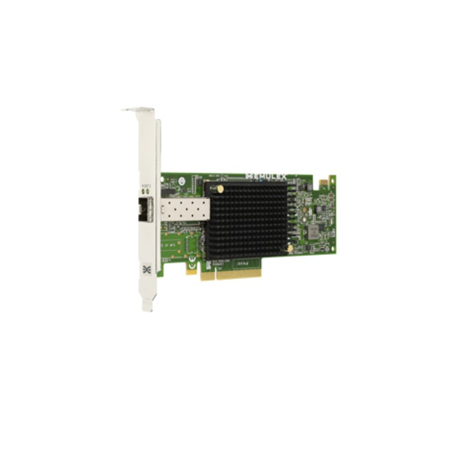 Мрежови адаптер Broadcom OCe14101-NM, от PCIe 3.0 x8 към 1x SFP+(ж), 10GBASE-SR (short reach optical) image