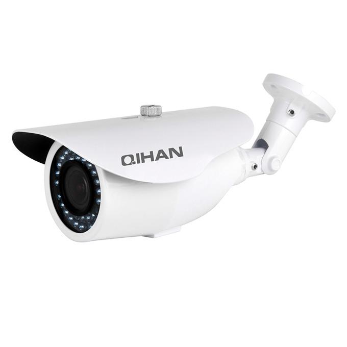 "IP камера Qihan QH-NW4232SO-P, водоустойчива, 2.0 MP, 1920x1080@30fps, 1/2.7"" CMOS, 2.8-12mm, POE, ИЧ-30m image"