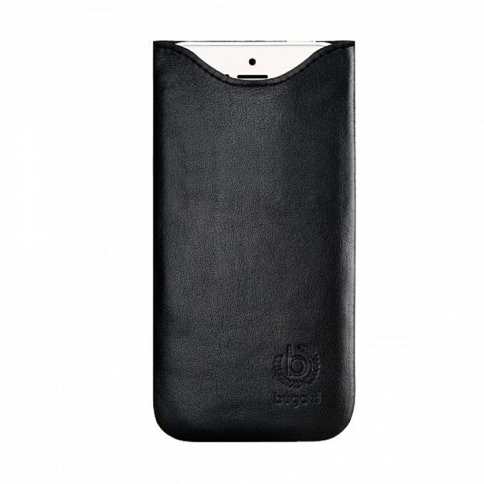 "Калъф ""джоб"" Bugatti SlimFit (черен), за Samsung Galaxy A3, естествена кожа image"