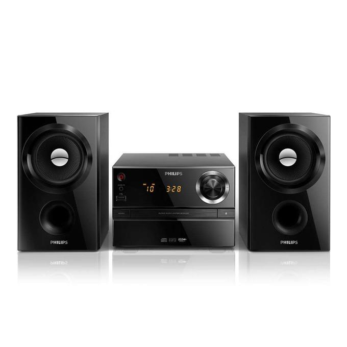 Philips mini audio MCM1350 , CD,MP3-CD,USB,FM