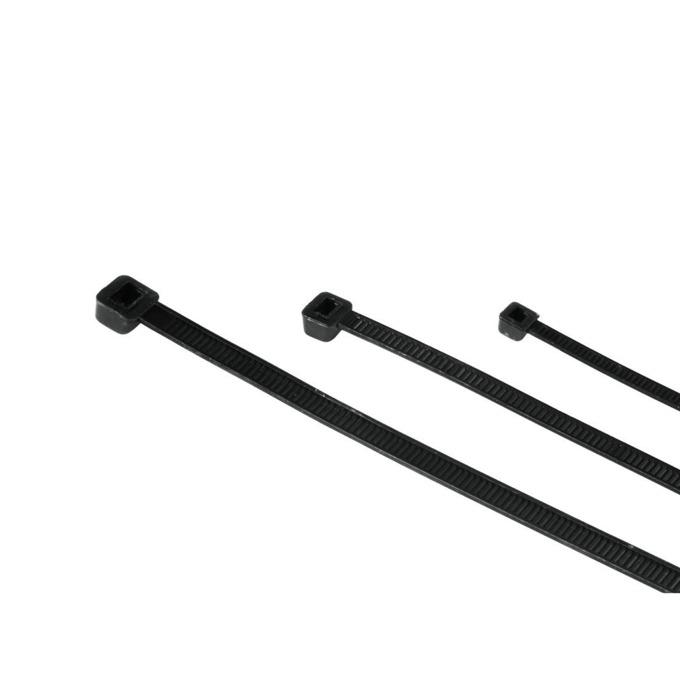 Hama Кабелни връзки, 150 бр 3 размера черен