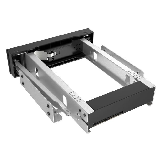 """Кутия за вграждане 5.25"""" (13.34 cm), Orico 1106SS, за 3.5"""" HDD/SSD SATA I/II/III, SATA, метална, черна image"""