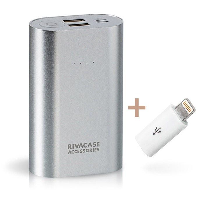 Външна батерия/power bank Rivacase Rivapower VA1010, 10000mAh image