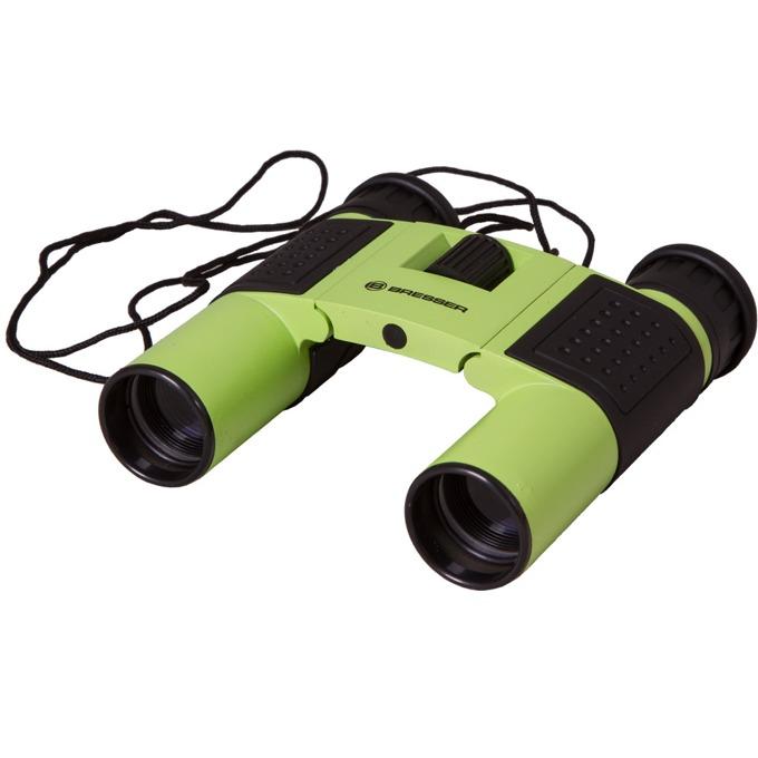Бинокъл Bresser Topas 10x25, 10x оптично увеличение, диаметър на лещата 25mm, зелен image