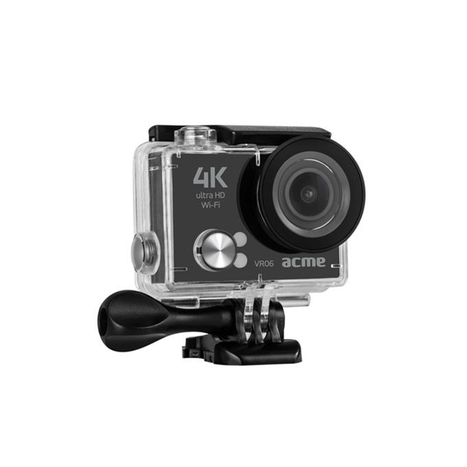 "Екшън Камера Acme VR06, HD 1080p, 2"" (5.08 cm) LCD дисплей, micro USB, micro HDMI, Wi-Fi, водоустойчив кейс, черна  image"