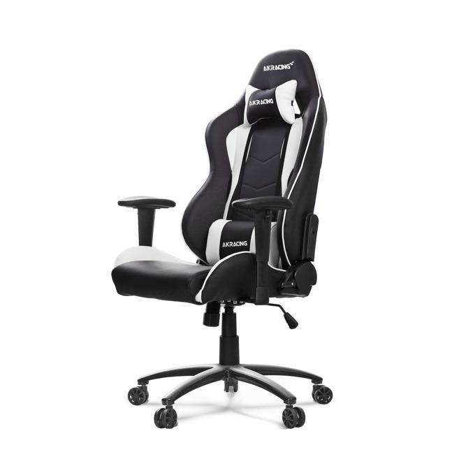 Геймърски стол AKRACING Nitro, бял image