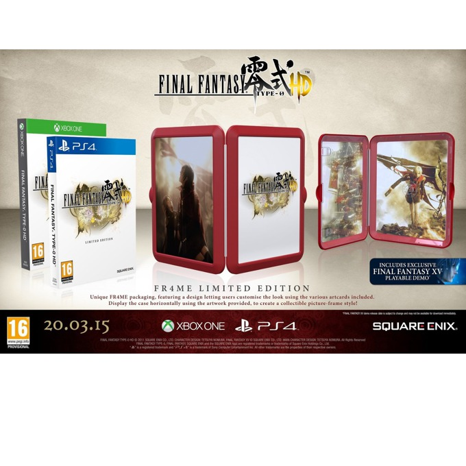 Final Fantasy Type-0 HD FR4ME LE product