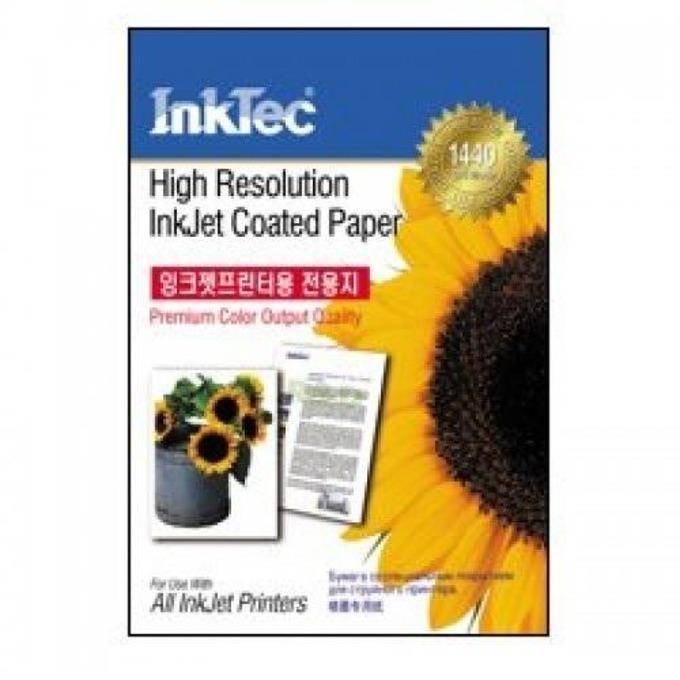 Хартия INTEC Coated Paper, 100sh, A4, 105 g/m2