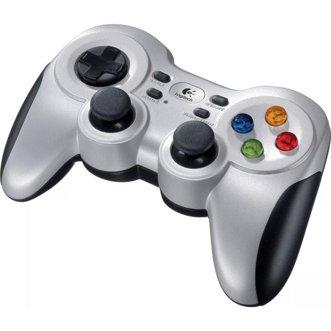 Gamepad Logitech Wireless Gamepad F710, безжичен, вибрация, USB image
