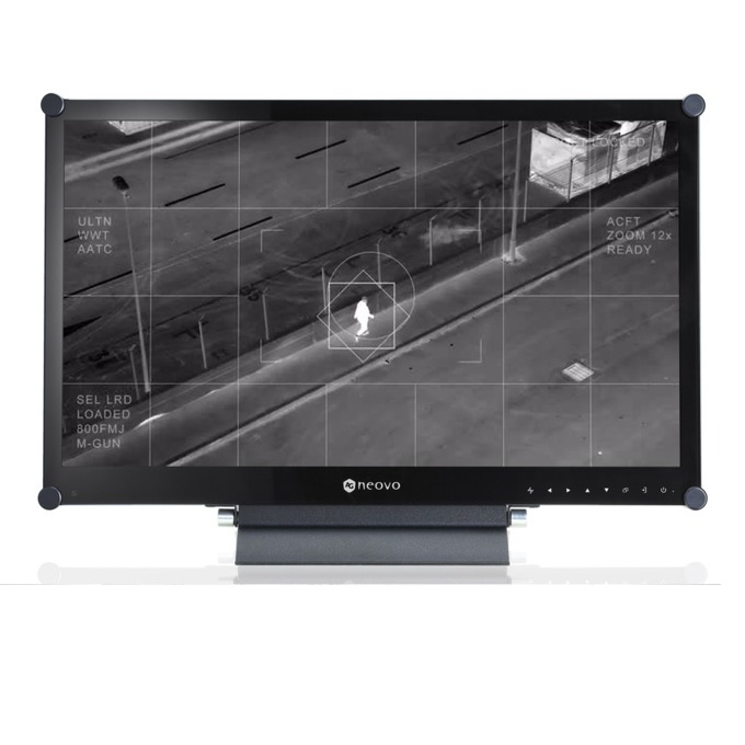 "Монитор AG NEOVO HX-24E, 23.6""(59.94 cm), Full HD VA LED, VGA, HDMI, DVI-D, DisplayPort, RS232, BNC, SDI image"