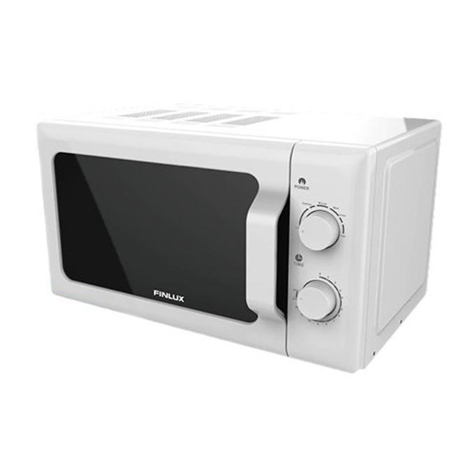 Микровълнова фурна Crown FMO-2095, механично управление, 700 W, 20 л. обем, 6 степени на мощност, бяла image