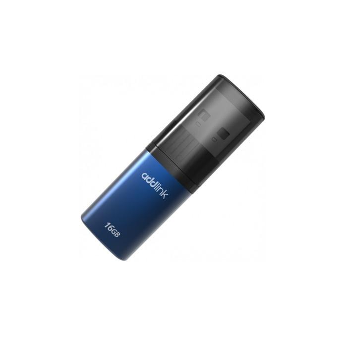 Памет 16GB USB Flash Drive, Addlink U15, USB 2.0, синя image