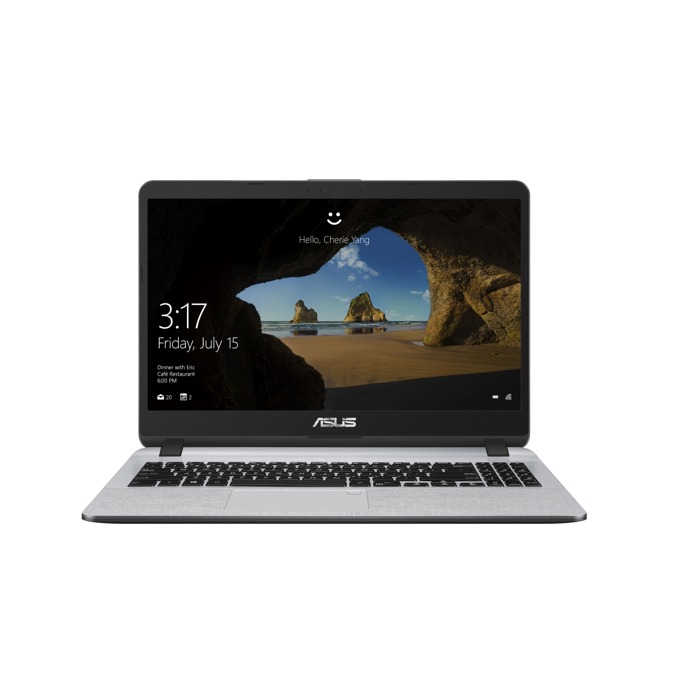 "Лаптоп Asus X507MA-BR071 (90NB0HL1-M05090)(сив), четириядрен Gemini Lake Intel Pentium N5000 1.1/2.7 GHz, 15.6"" (39.62 cm) HD Anti-Glare LED-backlit Display, (HDMI), 4GB DDR4, 256GB SSD, 1x USB 3.0, Free DOS, 1.75 kg image"