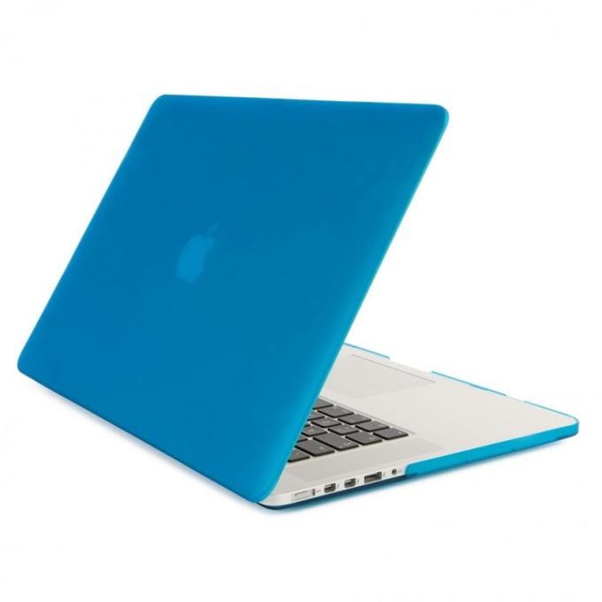 Протектор Tucano Nido Hard Shell Case за MacBook Air 11, матиран, син-прозрачен image