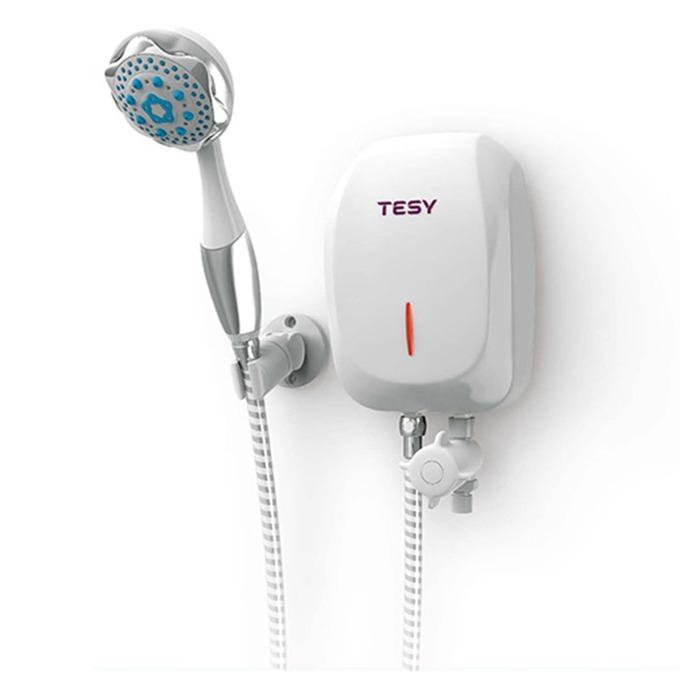 Електрически бойлер Tesy IWH 70 X02 BA H, проточен, вертикален, 7kW, енергиен клас А, 20.0 x 13.0 x 7.6 cm image
