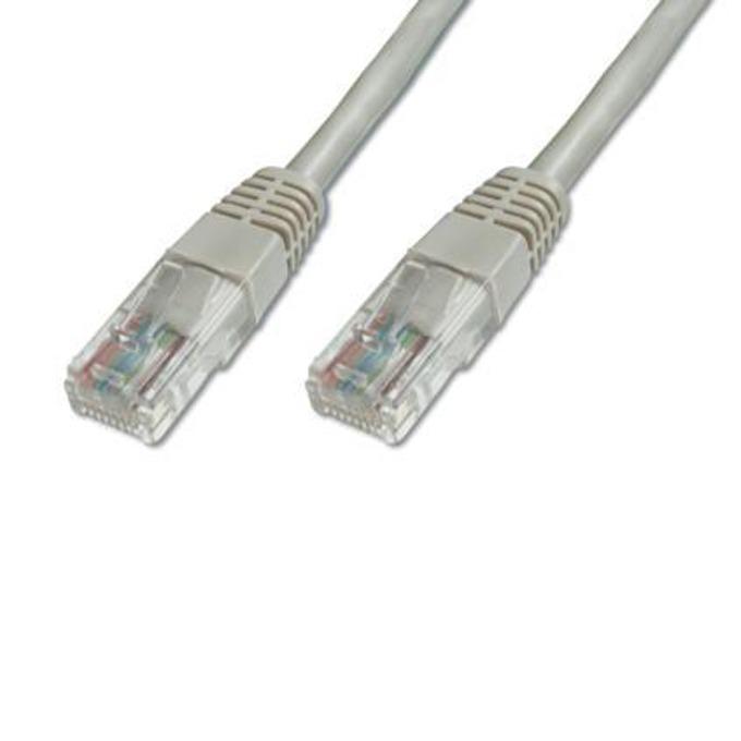 Пач кабел ASSMANN DB-212188, UTP, Cat.5e, 10 м, сив image
