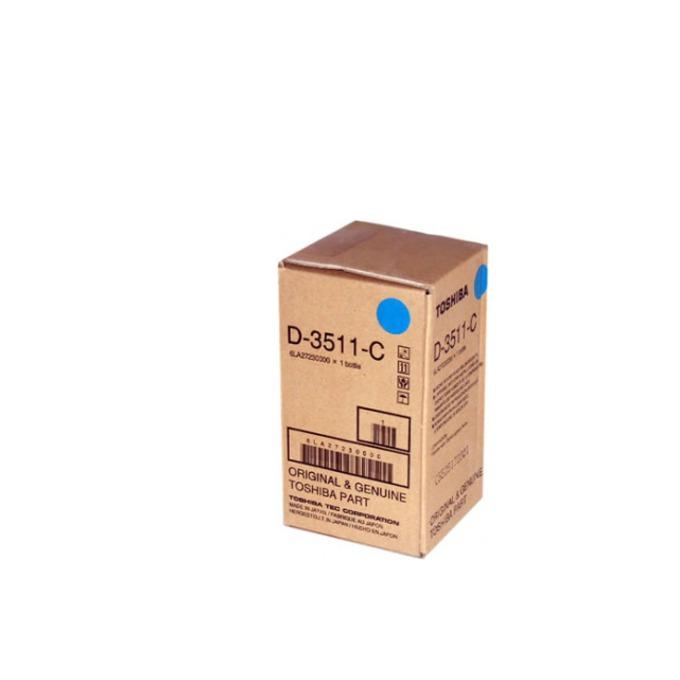 ДЕВЕЛОПЕР ЗА КОПИРНА МАШИНА TOSHIBA eStudio 3511/4511 - Cyan - P№ D-3511-C - заб.: 285gr. image